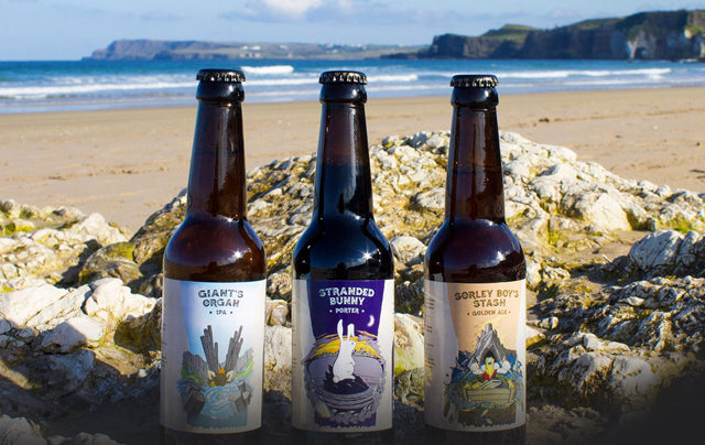 Lacada Beers at Magherabuoy House Hotel in Portrush, Northern Ireland on the Causeway Coastal Route