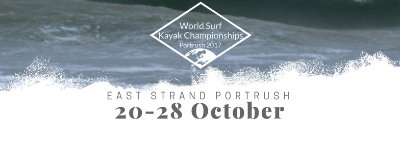 World Surf Kayak Championships 2017 coming to Portrush on the Causeway Coastal Route in Northern Ireland