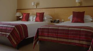 Magherabuoy Hotel's standard bedrooms include single and queen-sized beds