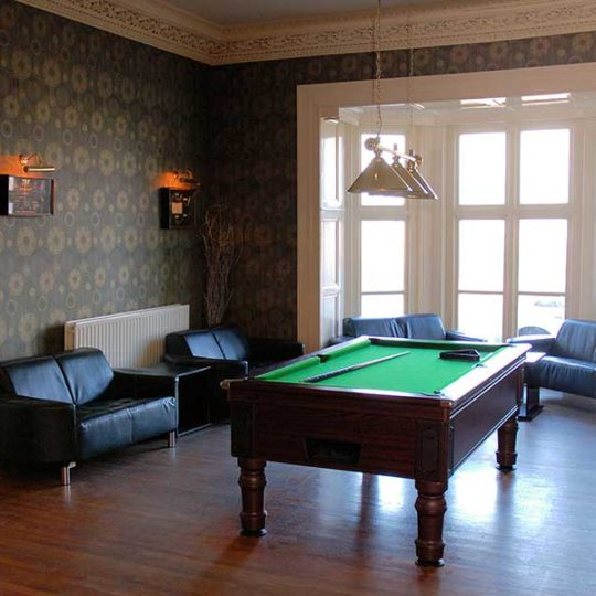 Enjoy a game of pool in our Hotel on the outskirts of Portrush